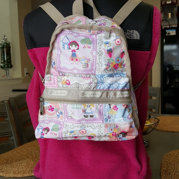 d469f2feb8a Lesportsac Handbags - Lesportsac a Small World Well Wishes Mini Backpack